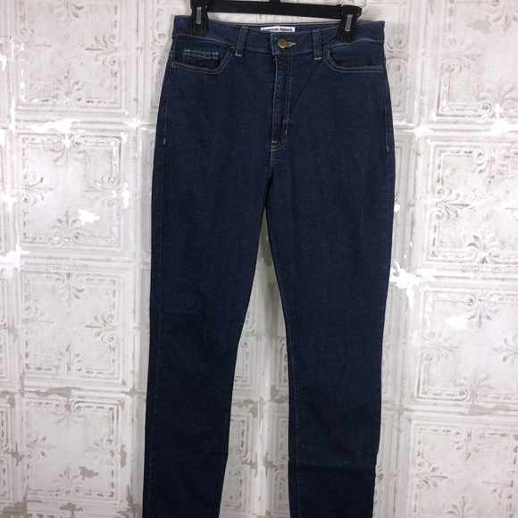 American Apparel Denim - American Apparel   High Rise Pencil Skinny Jean